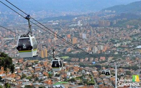 Metrocable Medellin, Colombia