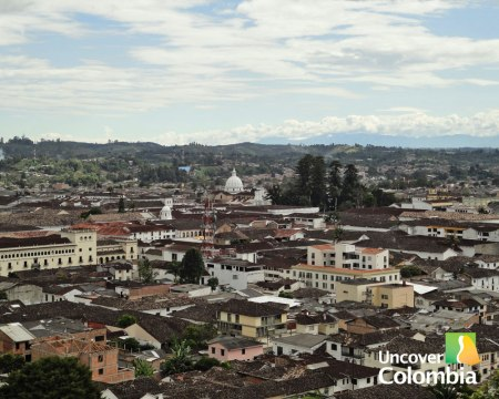 View of Popayan - Uncover Colombia