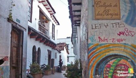 Callejon de la brujas near the Plaza Chorro de Quevedo