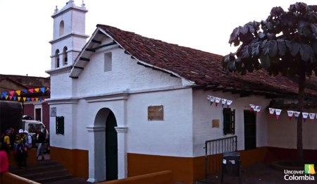 Ermita de San Miguel del Príncipe (Hermitage of St Michael) in the Plaza Chorro de Quevedo