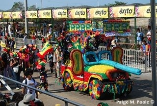 Marimonda floats in Barranquilla's Carnval