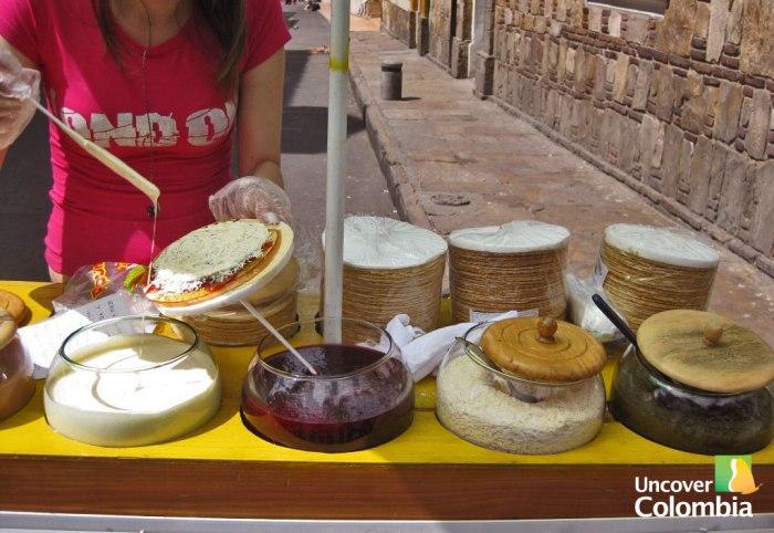 Obleas in Bogota