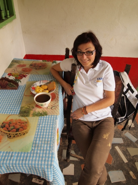 Interview With :    Simona Pfefferova, who spend about one year in Colombia doing her internship
