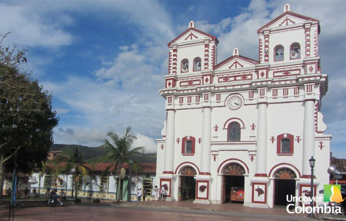Cathedral in Guatape