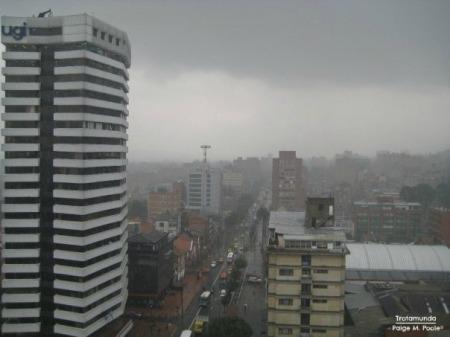 Cold day in Bogotá
