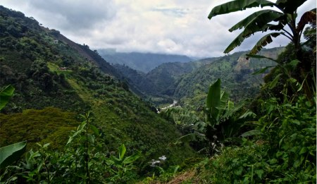 Chinchina landscape - Colombia's coffee region