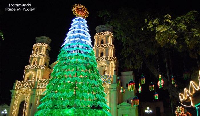 Christmas lights in Envigado, Antioquia