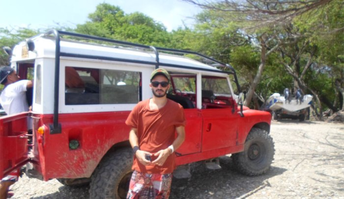 Ricky and the Jeep