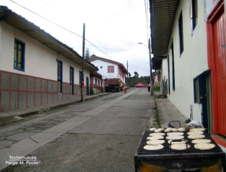Arepas in Salento, Quindío