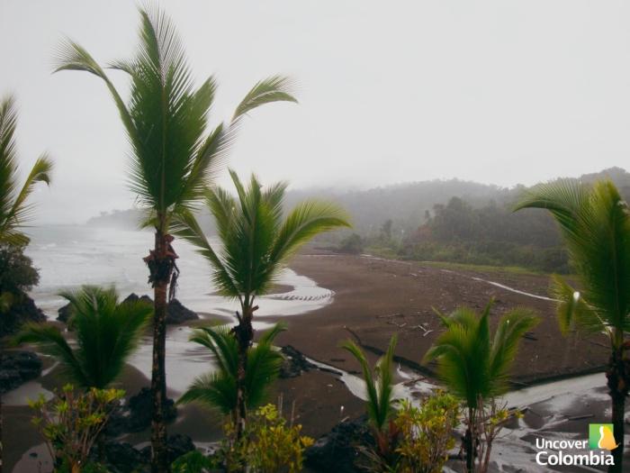 Bahia Solano in the Colombian Pacific Coast