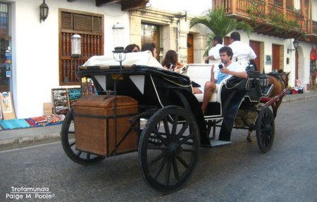 Horse-drawn Carriage in Cartagena