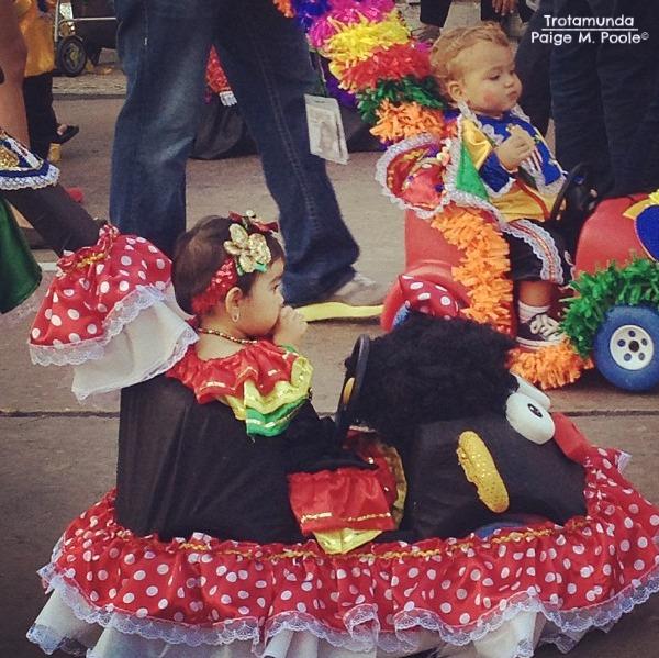 Children's pre-Carnival Garabato Parade