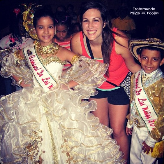 Children King and Queen of Carnival 2013 at a Cumbia Wheel