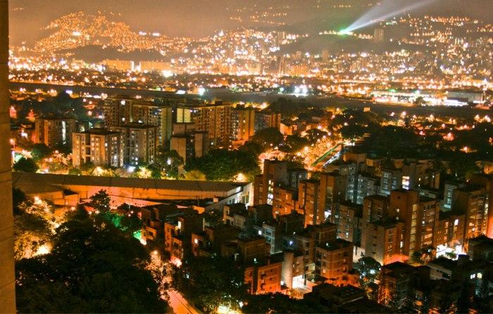 View of Poblado