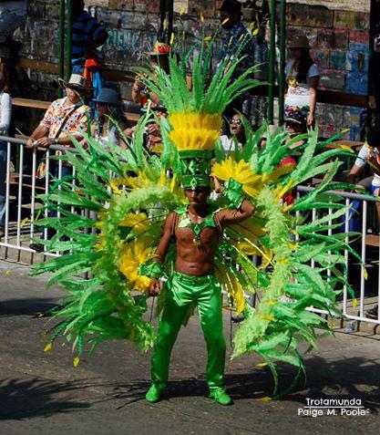Carnival-performer