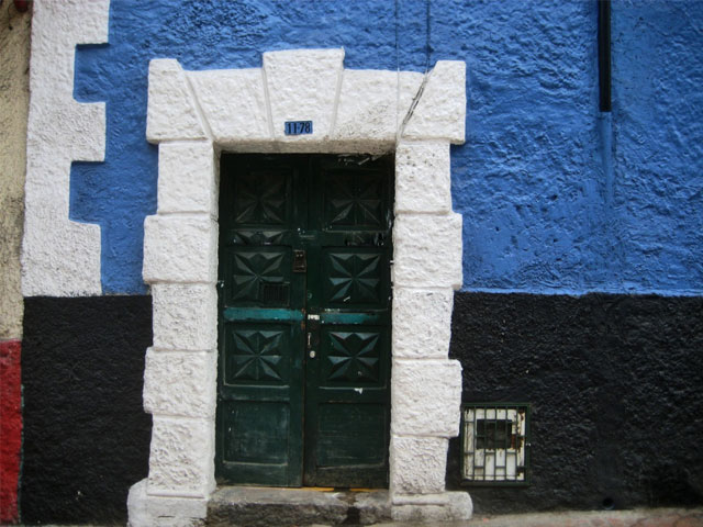House or Building number in Colombia