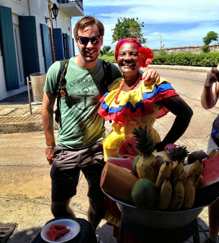 Cartagena - Fruit Woman