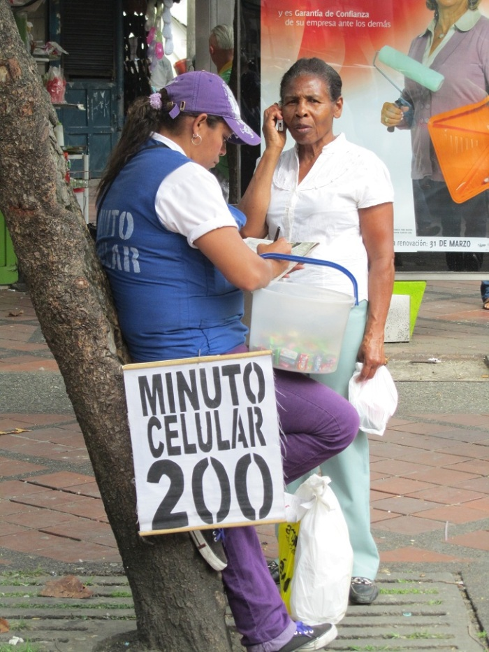 Cellphones in Colombia