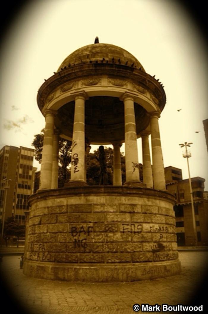 Templete del Libertador near Las Aguas Flea Market