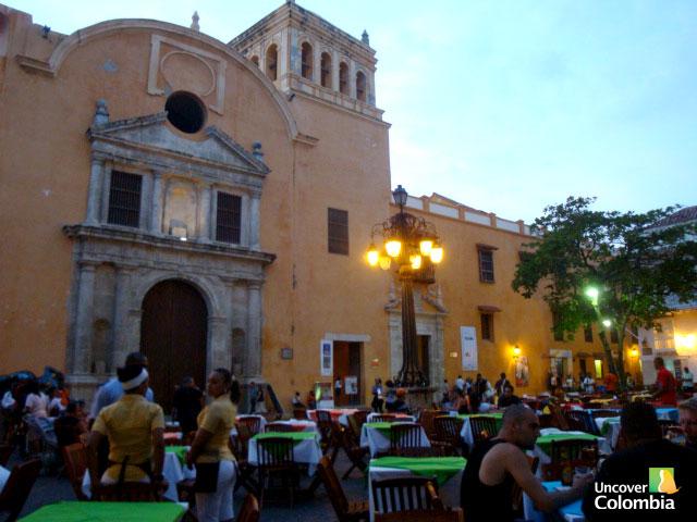 Iglesia Santo Domingo, Cartagena