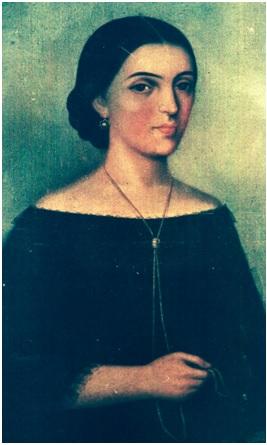Portrait of Mañuelita Sáenz