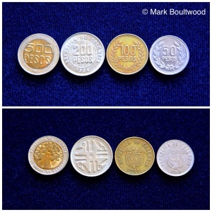 The older set of coins are still in circulation as legal tender